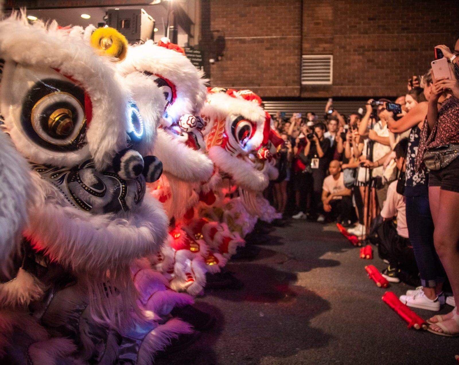 lion dance awakening ceremony